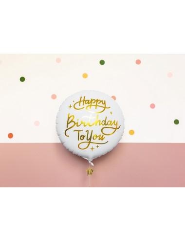 "Folieballon ""Happy birthday..."