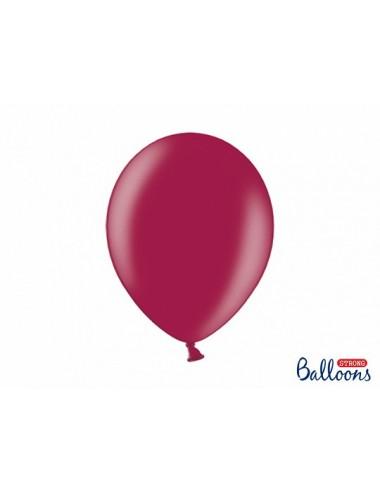"""Metallic ballonnen """"Maroon"""""""
