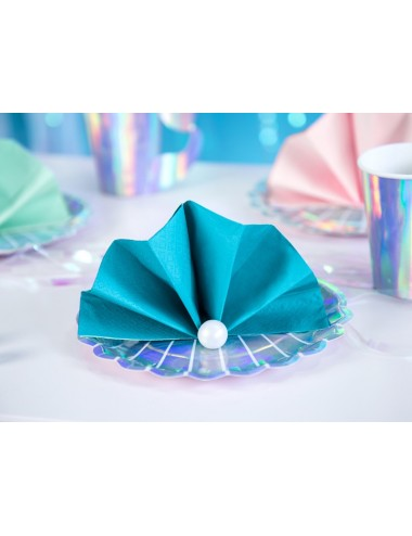 Turquoise servetten (20st)