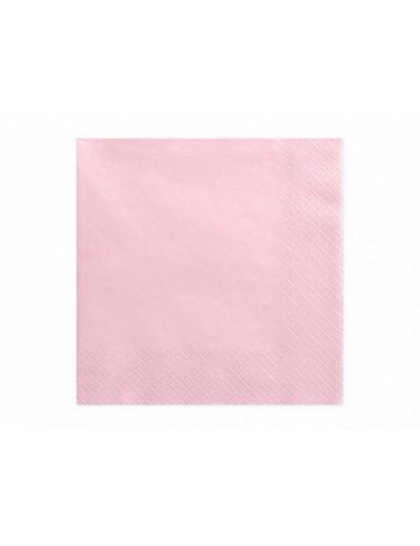 Roze servetten (20st)