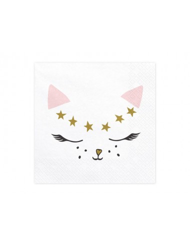 Servetten Kitty (20st)