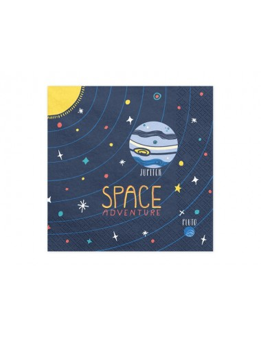 Servetten Space (20st)