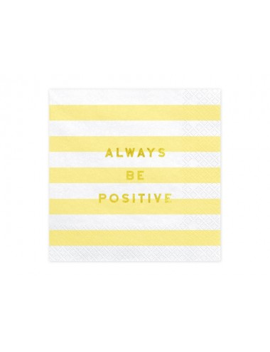 Always be positive Servetten (20st)