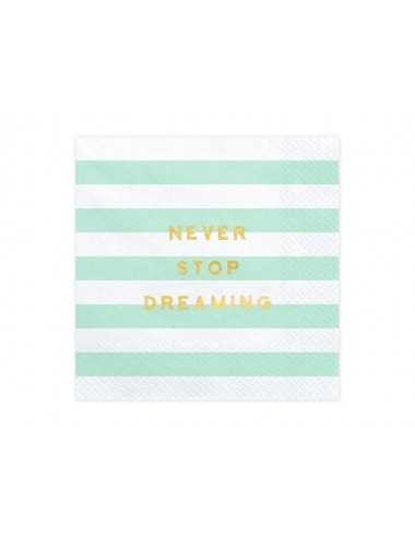 Never Stop Dreaming Servetten (20st)